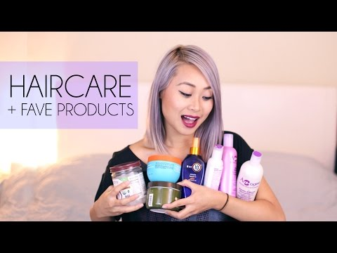 Hair Care + Favorite Products for Bleached / Pastel Hair