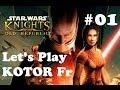Star Wars KOTOR 1 FR (Let's Play knights of the old republic) épisode 01 où on triche dès le départ!