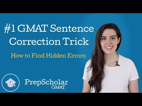 How to Find Hidden Errors in GMAT Sentence Correction: My #1 Trick
