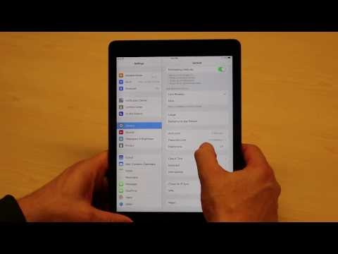 How to Setup iPad Restrictions for Your Children