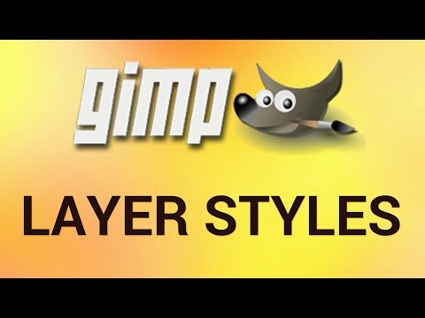 How to Use Layer Styles in GIMP