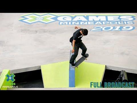 Xxx Mp4 Men's Skateboard Street FULL BROADCAST X Games Minneapolis 2019 3gp Sex