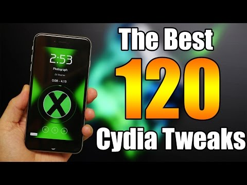 NEW! The BEST 120 Cydia Tweaks iOS 8.4 & 8.3 - TaiG Jailbreak