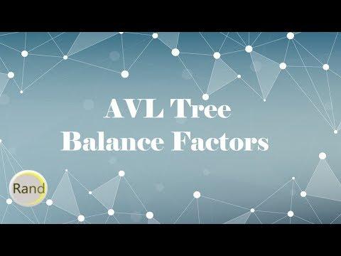 AVL Tree Balance Factors