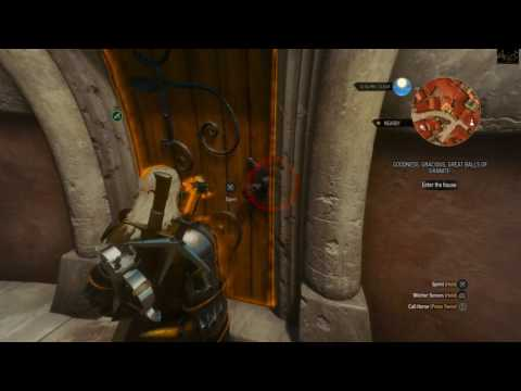 The Witcher 3: Blood and Wine - Goodness, Gracious, Great balls of Granite [1080p HD]