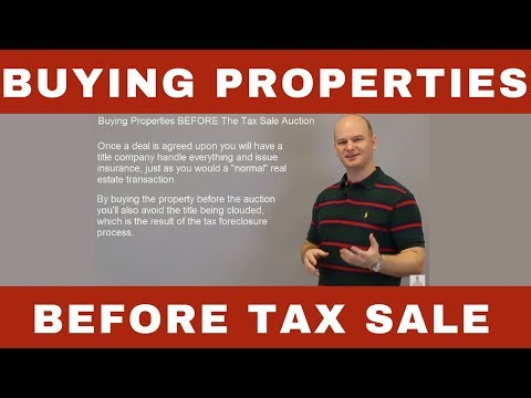 Buying Properties BEFORE Tax Deed Sale