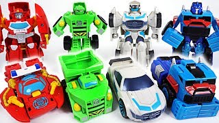 Paw Patrol's cars were stolen! Transformers Rescue Bots Chase, Heatwave, Boulder! Go! - DuDuPopTOY
