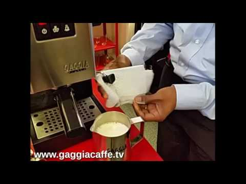 Gaggia Classic Milk Frothing