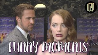 Ryan Gosling and Emma Stone Funny Moments PART 1