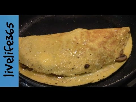 How to...Make a Killer Mushroom Omelette