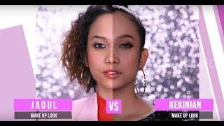Tutorial Make Up Jadul VS Kekinian   FASHION AND BEAUTY (21/09/19) Part 2