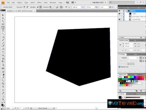 How to wrap text around an image for the web using Illustrator