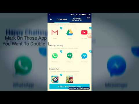 How to use Any android App Double with 2 Different Account in Mobile and tab