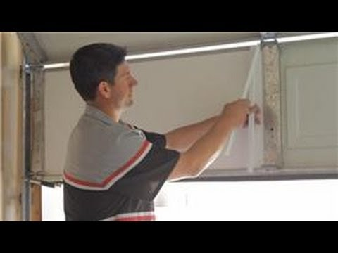 Garage Door Help : How to Insulate a Garage Door