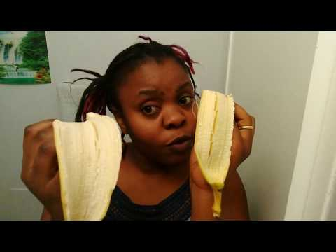 How to take care of  your face with banana peel