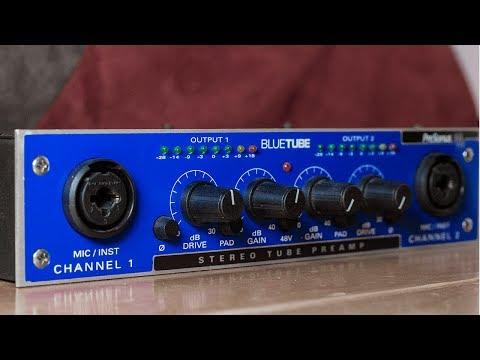 Presonus Bluetube Preamp Review