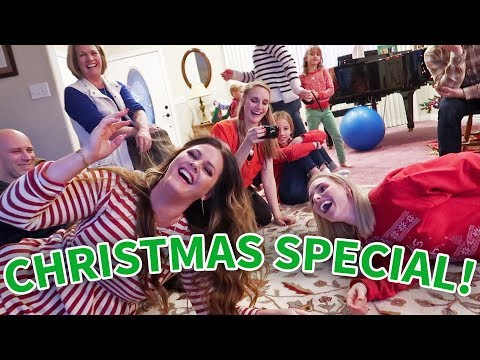 CHRISTMAS FAMILY PARTY!   Ellie and Jared Christmas Special 2017