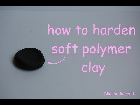 How To Harden Soft Polymer Clay - By Nkalandacraft
