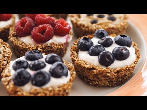 Delicious Vegan Granola Breakfast Cups - Healthy Dessert