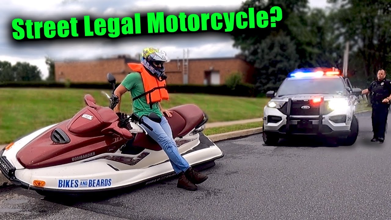 I Built the FASTEST and Biggest Jet Ski Motorcycle