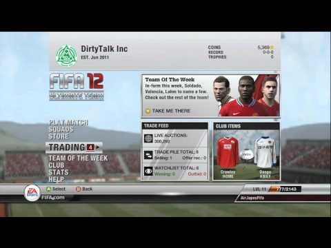 FIFA 12 Ultimate Team - Path to Power v1