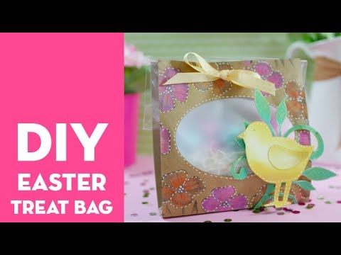 DIY Easter Treat Bag with Sizzix