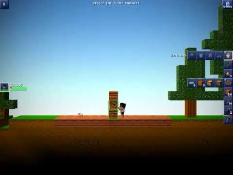 How to build house ( with farm ) in blockheads