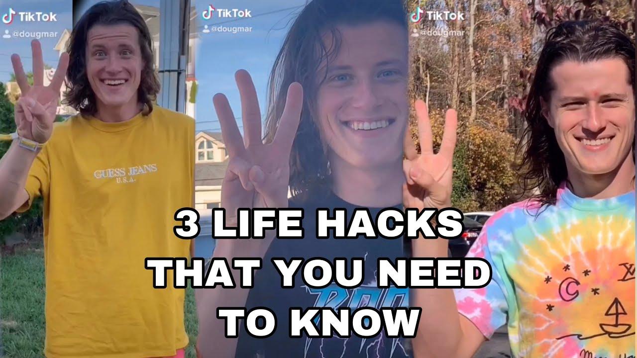 dougmar life hacks compilation tik tok