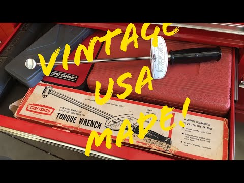 Quickie: Vintage Sears Craftsman Dial Torque Wrench