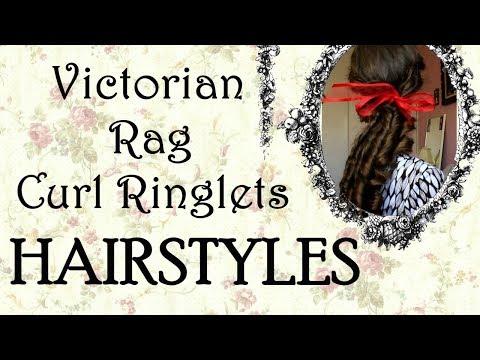 Vintage Rag Curl Ringlets Hairstyles