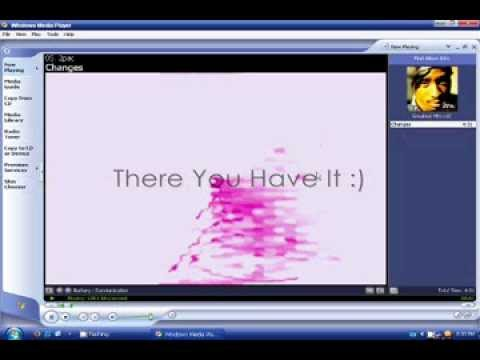 How To Add (or Change) Album Art To A Song with Windows Media Player on Windows XP