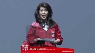 Pesan Solidaritas Ketua Umum PSI Grace Natalie - Kopdarnas PSI