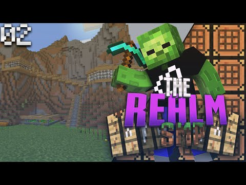 Minecraft PE Realms SMP E2 - Welcome To My Crib (MCPE 0.15.1 Multiplayer)