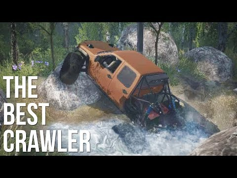 BEST CRAWLER EVER & NEW MAP! Chevy Colorado Crawler - SpinTires MudRunner Mods