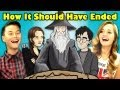 Teens React To Hishe How It Should Have Ended