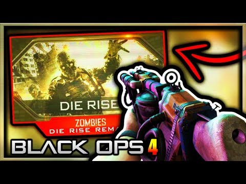 Black Ops 4 Zombies DIE RISE REMASTERED TEASER BY TREYARCH!? (COD Black Ops 4 Zombies DLC Remaster)