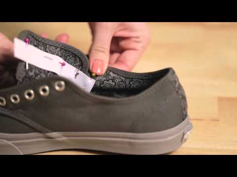 How to Turn Lace Up Shoes into Slip Ons
