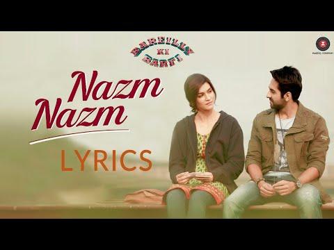 Xxx Mp4 Tu Nazm Nazm Sa Mere Full Song Lyrics Bareilly Ki Barfi Ayushmann Khurrana Watch It Now 3gp Sex