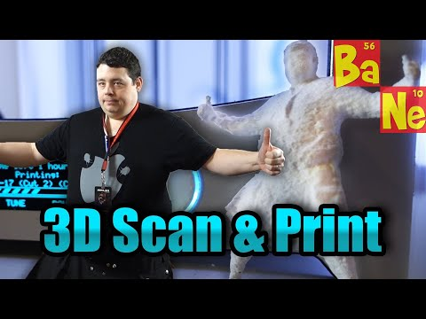 Scanning & 3D printing yourself