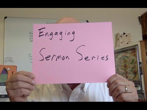 Creating an Engaging Sermon Series- 5 Minutes to Better Sundays