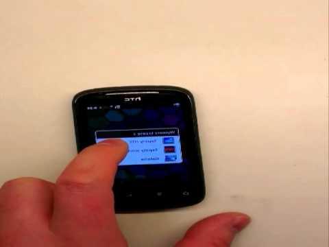 Zmiana tapety w HTC EXPLORER