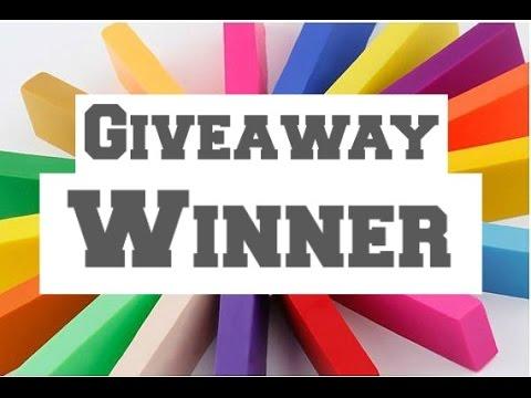 1k Giveaway Winner!