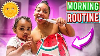 MORNING ROUTINE WITH LONDYN!