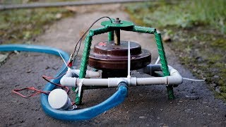 How to Make a Micro Hydro Power Plant from Ceiling Fan. | DIY |