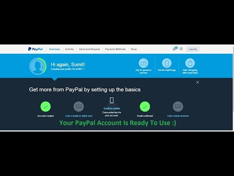 HOW TO CREATE A NEW PAYPAL ACCOUNT | New Users