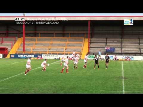 Students World Cup - Semi Final England v New Zealand