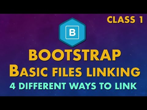 Top 4 ways to link bootstrap files with html project