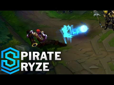 Pirate Ryze (2016) Skin Spotlight - League of Legends