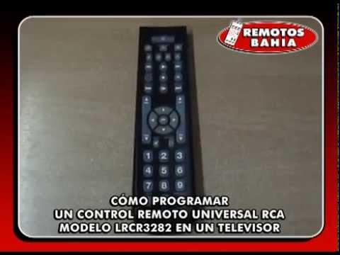 CÓMO PROGRAMAR UN CONTROL REMOTO UNIVERSAL RCA LRCR3283 HOW TO PROGRAM UNIVERSAL REMOTE CONTROL