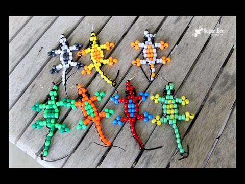 Pony Bead Lizard Tutorial